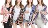Women's Maternity One-Size Floral Kimono Cardigan