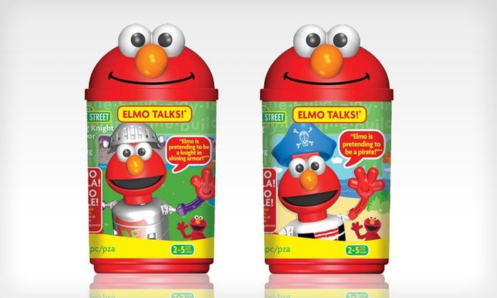 K'NEX Talking Elmo Sets: $14 for a K'NEX Talking Knight or Talking Pirate Elmo Set ($16.99 List Price). Free Returns.