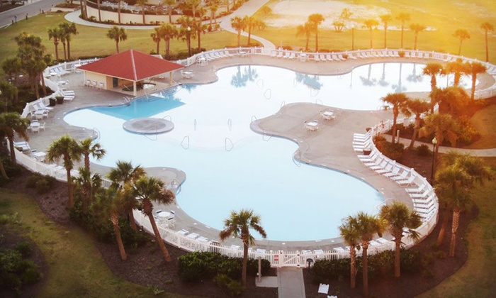 Myrtle Beach Barefoot Resort - North Myrtle Beach, SC: 3- or 5-Night Stay for Up to 8 in a Two- or Three-Bedroom Condo at Myrtle Beach Barefoot Resort in North Myrtle Beach