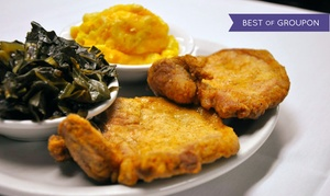 Flood's Bar & Grille: $29 for $50 Worth of American Soul Food and Drinks at Flood's Bar & Grille