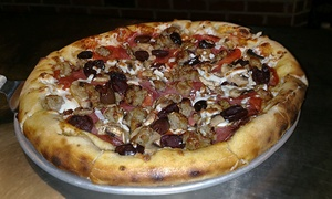 The Ridge: Artisan Wood-Fired Pizza, Craft Burgers, Pastas & American Fare at The Ridge (40% Off). Two Options Available.