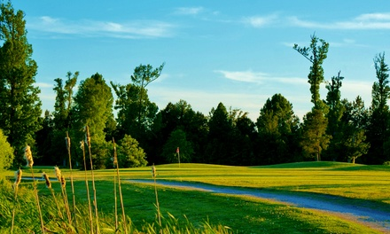 18-Hole Round of Golf for Two or Four Including Balls and Cart at The Golf Club at Eagle Creek (Up to 56% Off)
