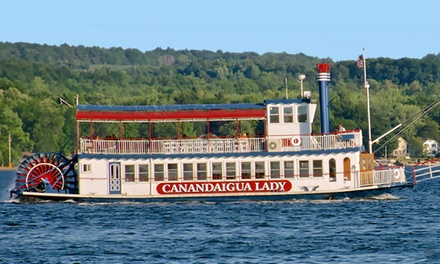Narrated Excursion Cruise with Upper-Deck Seating for Two or Four from Canandaigua Lady (Up to 42% Off)