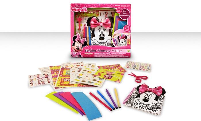Disney Jr. Minnie Mouse Sticker Memory Maker: Disney Jr. Minnie Mouse Sticker Memory Maker. Free Returns.