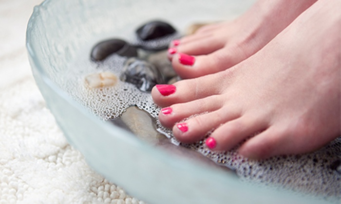 The Beauty Lounge - The Beauty Lounge: The Beauty Pedicure, Age Smart Facial, or Both at The Beauty Lounge (51% Off)