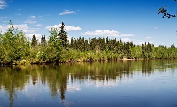 River's Edge Resort - Fairbanks, AK: Stay for Two at River's Edge Resort in Fairbanks, AK; Dates into August