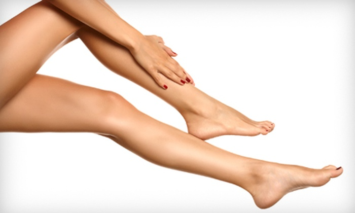New Look Vein and Aesthetic Center - Saint Louis: One or Two Sclerotherapy Sessions at New Look Vein and Aesthetic Center (Up to 65% Off)