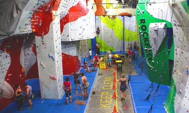 Indoor Rock Climbing Pass Rockface Indoor Rock Climbing