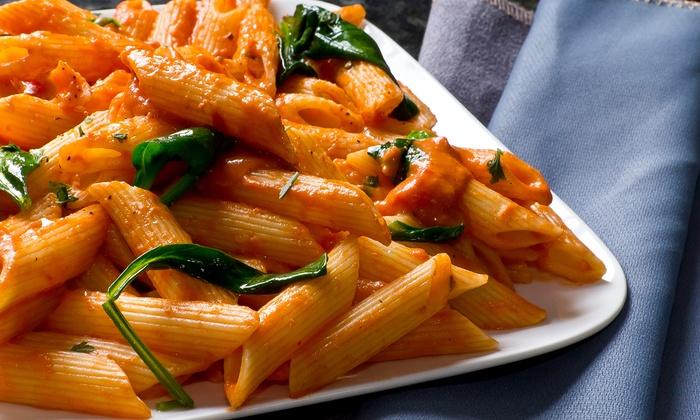 Bella Vista Ristorante Italiano - Hastings: Prix Fixe Dinner for Two or Four at Bella Vista Ristorante Italiano (35% Off). Four Options Available.