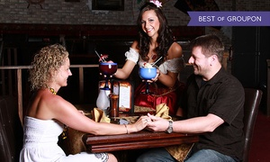 Treasure Tavern: $79 for a Valentine's Day Weekend Dinner Show for 2 at Treasure Tavern ($165.90 Value). 4 Times Available.