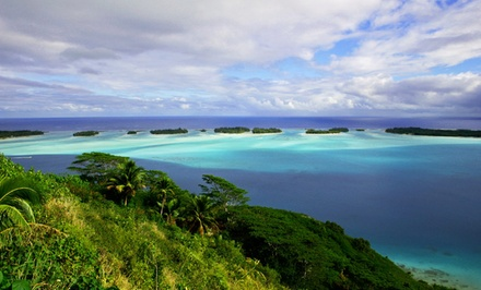 groupon daily deal - 8-Day Tahiti Vacation with Airfare from Pacific Holidays. Price/Person Based on Double Occupancy.