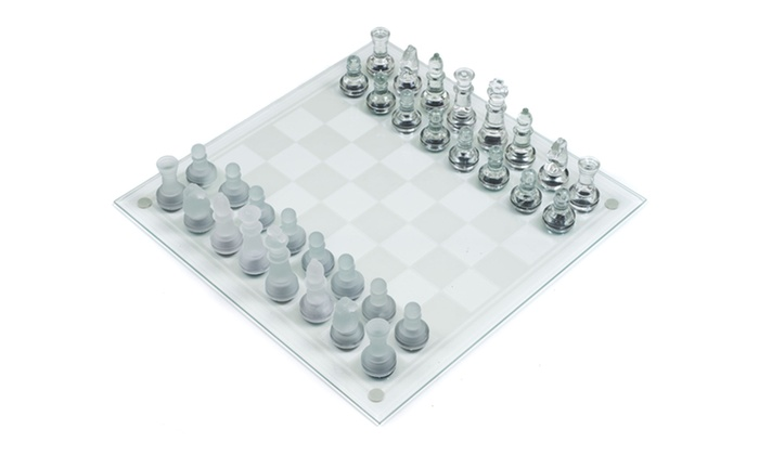 Glass Chess Set: $18.99 for a Glass Chess Set ($30.66 List Price). Free Shipping and Returns.