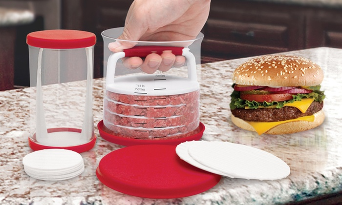 Starfrit Burger Patty Makers Groupon Goods