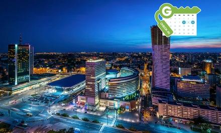 Polska-Warszawa: pobyt dla 2 osób w apartamencie studio z dostępem do Wi-Fi i więcej w Oxygen Residence
