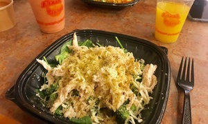 45% Off Food and Juice at Liquid Fresh Planet  at Liquid Fresh Planet, plus 6.0% Cash Back from Ebates.