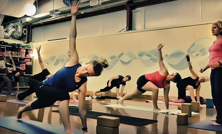 $39 for 10 Yoga, Men's Beginning-Yoga, or Women's Expressive-Dance Classes at Asheville Community Yoga ($100 Value)