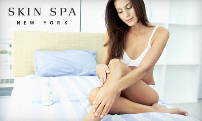 Skin Spa New York - Multiple Locations: 3 or 6 Laser Hair-Removal Treatments on Extra-Small, Small, Medium, or Large Area at Skin Spa New York (Up to 83% Off)