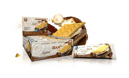 Quest Protein Bars (12-Pack)
