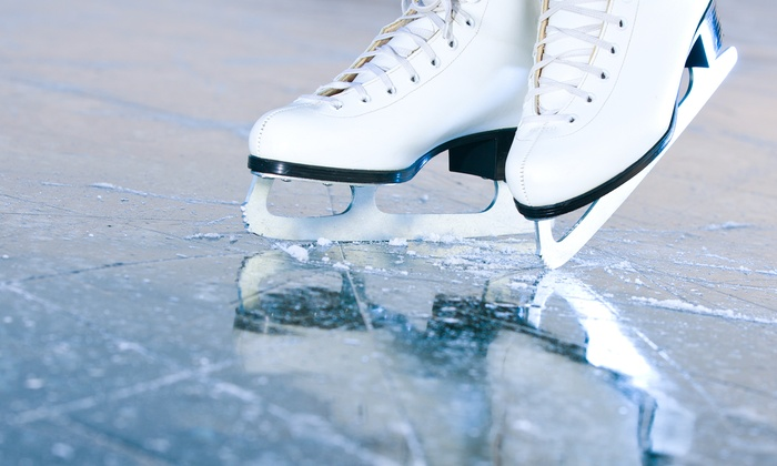 Raleigh Iceplex - Raleigh: Ice-Skating Session for Two, Track-Out Camp, or Figure-Skating or Hockey Lessons at Raleigh Iceplex (Up to 40% Off)
