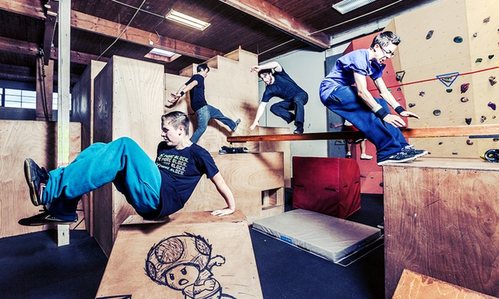 Parkour Visions - North Queen Anne: $40 for Three Adult Parkour Classes and Two Open-Gym Sessions at Parkour Visions ($120 Value)