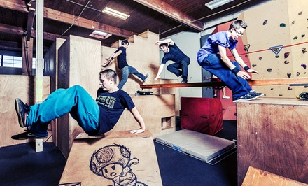 $37 for Three Adult Parkour Classes and Three Open-Gym Sessions at Parkour Visions ($135 Value)