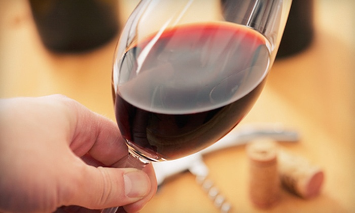 Chateau de Pique Winery - Multiple Locations: $20 for Wine Tasting for Four with Bottle of Wine at Chateau de Pique Tasting Room ($57 Value). Two Locations Available.