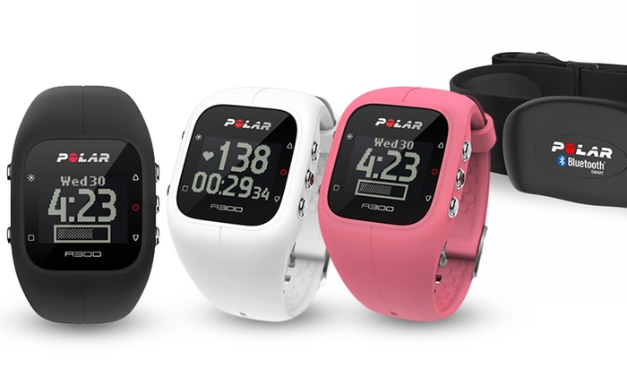 Polar A300 Fitness Watch and Replacement Color Straps