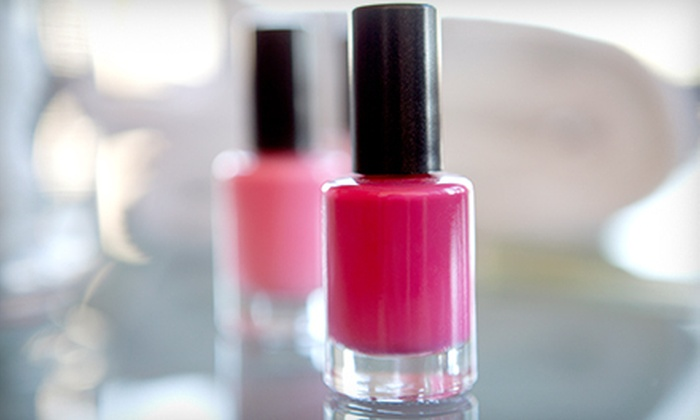 Wink & Snap - Central Park: One or Two Gel Manicures with Starlette Pedicures at Wink & Snap (Up to 51% Off)