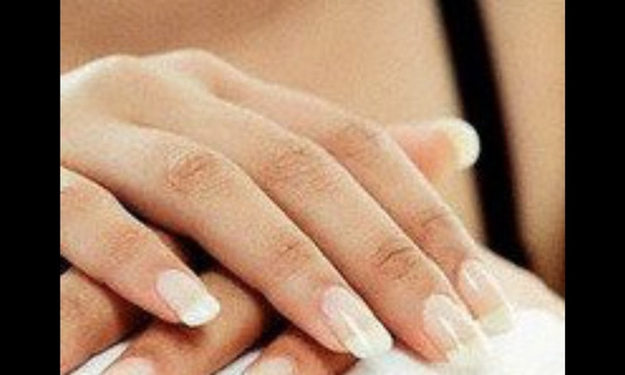 Hairspray and Co - Hairspray and Co: Up to 68% Off Regular or Gel Mani-Pedis at Hairspray and Co