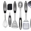 Culinary Edge Stainless Steel Kitchen Utensil Set (8-Piece)