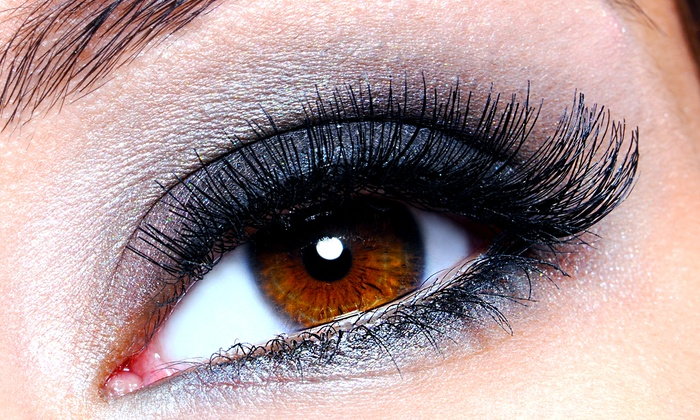 L Beauty Bar - Tukwila: Full Set of Silk Eyelash Extensions with Optional Light Refill at L Beauty Bar (Up to 56% Off)