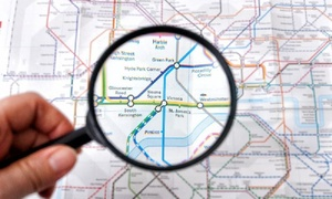 London Premier Walking Tours: London Underground Treasure Hunt for One, Two or Four with London Premier Walking Tours