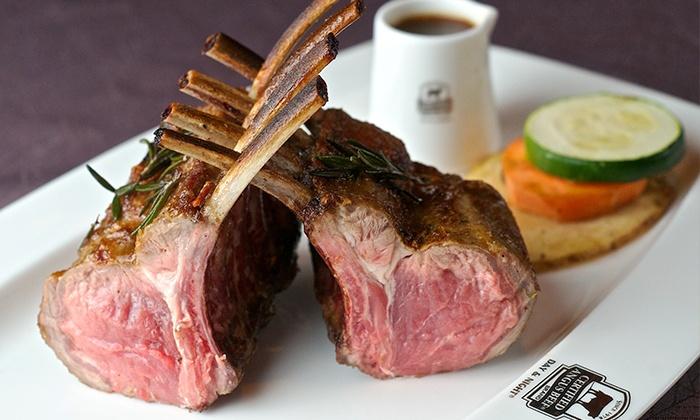 Day & Night Angus Steak and Raw Bar - Day & Night Angus Steak & Raw Bar: C$69 for a Five-Course Steak or Seafood Meal at Day & Night Angus Steak and Raw Bar (C$140Value)
