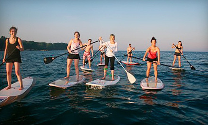 SUPGirlz - The Beaches: $39 for 90-Minute Introductory Standup-Paddleboarding Class at SUPGirlz ($79 Value)