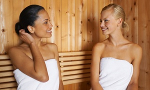 DeLuxe Spa Center: 2 Std. Private-Sauna-Suite für zwei Personen im DeLuxe Spa Center (bis zu 32% sparen*)