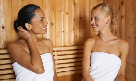 3 Std. Saunalandschaft mit Hamam-Oase und Dampfbad, optional mit Massage im Hamam Wuppertal (bis zu 49% sparen*)