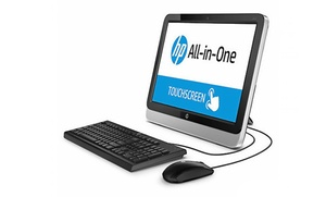 """HP 19.45"""" All-in-One Touchscreen PC with 1.4GHz AMD Processor: HP 19.45"""" All-in-One Touchscreen PC with 1.4GHz AMD Processor, 4GB RAM, and 500GB Hard Drive (Manufacturer Refurbished)"""