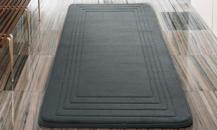 Oversized 24u0027u0027x60u0027u0027 Memory Foam Bath Rugs: Oversized 24u0027u0027 ...
