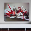 """20""""x14"""" Graffiti Artwork on Gallery-Wrapped Canvas"""