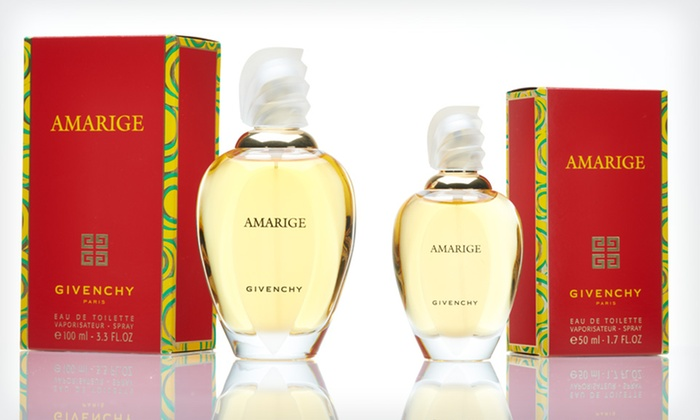 Amarige by Givenchy Eau de Toilette for Women: 1.7- or 3.4-Fluid-Ounce Bottle of Amarige by Givenchy Eau de Toilette Spray for Women (39% Off). Free Shipping.