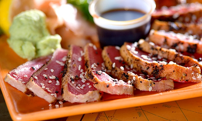 Squid Lips - Multiple Locations: Seafood Meal for Two or Four at Squid Lips (Up to 48% Off)