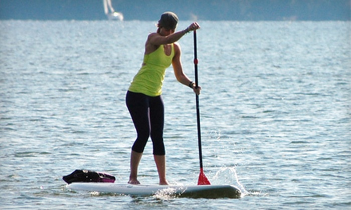 Adventure Paddle - Nashville: 30-Minute Standup Paddleboarding Lesson and 1.5-Hour Rental for One or Two at Adventure Paddle (Up to 64% Off)