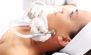 skin M aesthetics: One or Three Diamond Microdermabrasion Treatments with a Facial at skin M aesthetics (56% Off)