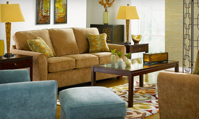 La-Z-Boy Furniture Galleries - La-Z-Boy Furniture Gallery: Upholstered Furniture at La-Z-Boy Furniture Galleries (Up to 78% Off). Two Options Available.