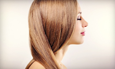 One or Two Brazilian Blowouts at Shear Designs Salon (Up to 72% Off)