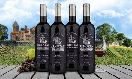 Four Bottles of 2012 Arnozan Reserve Bordeaux with Shipping Included from Barclays Wine ($195.91 Value)