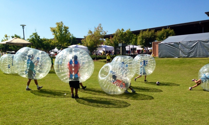 Ball Busters Bubble Soccer - Sunset Hills Athletic Fields: Up to 56% Off Bubble Soccer at Ball Busters Bubble Soccer