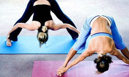5 or 10 Yoga Classes at Yogamed (Up to 58% Off)