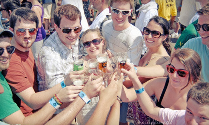 Beer, Bourbon & BBQ Festival - Atlantic Station: $40 for a VIP Outing for One to Beer, Bourbon & BBQ Festival on Saturday, March 2 ($75 Value)