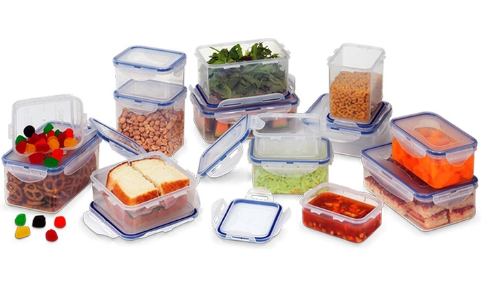 Lock U0026 Lock 28 Piece Food Container Set